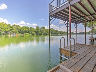 New Listing! Rustic & Charming Seguin Studio Cottage w/Waterfront Views, Private Balcony, Two Decks & Pavilion - Just Steps to Guadalupe River! - Seguin vacation rentals