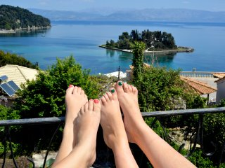 BREATHTAKING VIEW HOUSE CORFU STORY - Perama vacation rentals