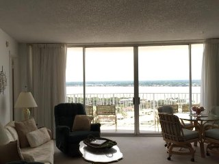 Panoramic View Ocean and River - Peck Plaza 19SW - Daytona Beach vacation rentals