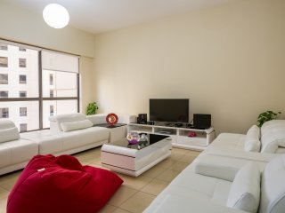2-bedroom JBR apartment on the 10th floor - Dubai vacation rentals