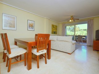 Beachfront 3 bedrooms apartment in tranquil greeny area with dunes - Marbella vacation rentals
