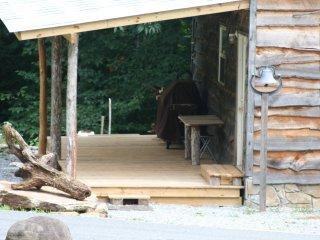 Tiny Rustic Mountain Cabin open floor - Elk Park vacation rentals