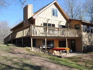 Year Around Luxurious and Relaxing Lakefront Home - Spooner vacation rentals