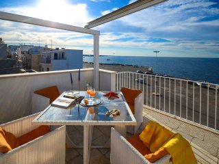 Casa Ardito with enchanting front sea view terrace - Polignano a Mare vacation rentals