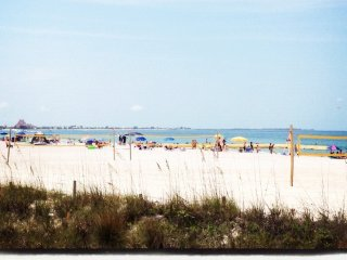 Just renovated in 2017;  a cozy, tropical condo just over a block to beach! - Saint Pete Beach vacation rentals