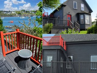Stylish home with panoramic view of working harbor - Beals vacation rentals
