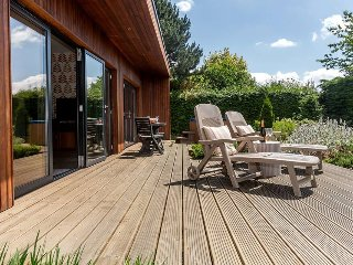 Comfortable 1 bedroom Bury Saint Edmunds Lodge with Deck - Bury Saint Edmunds vacation rentals