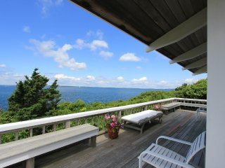 NAGIP - Split Rock House - Waterfront Makonikey, Private Association Beach - West Tisbury vacation rentals