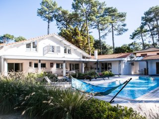 Seignosse villa with pool and walk to beach - Seignosse vacation rentals