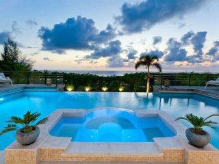GISELLE... This magnificent St Martin villa is perched on a hillside in the French Lowlands overlooking Plum Baie & Baie Rogue. - Plum Bay vacation rentals