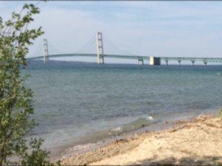 Lakeshore Cottage on the Straits of Mackinaw - Mackinaw City vacation rentals