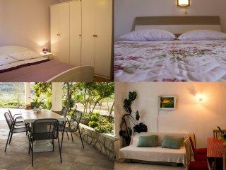 Spacious apartment for max 9 persons - Supetarska Draga vacation rentals
