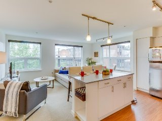 Dog-friendly condo w/ shared rooftop deck, walk to Space Needle and Elliott Bay! - Seattle vacation rentals