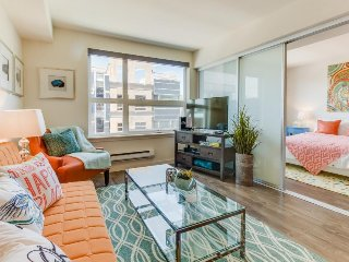 Modern and well-appointed Queen Anne condo w/ rooftop deck & gym - dogs OK! - Seattle vacation rentals