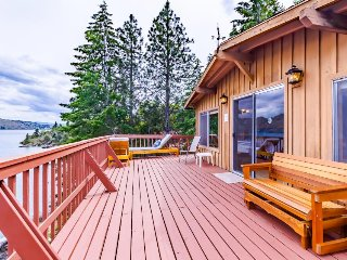Dog-friendly lakefront rustic cabin for 8 w/ dock and incredible views! - Manson vacation rentals