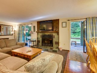 Spacious home w/ ski bus access, 2 miles from Mount Snow! - West Dover vacation rentals