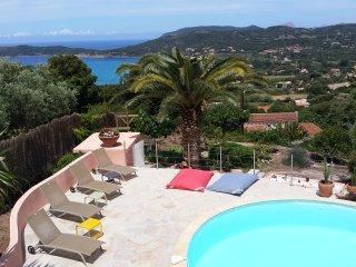 Villa à CARGESE vue mer avec piscine - Cargese vacation rentals