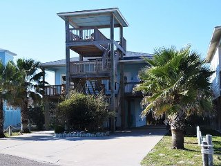 832PP;Elegant 3 bdrm 3 bath beach home with large deck; ocean view Sleep 10 - Port Aransas vacation rentals