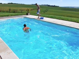 Wooden chalet with swimming pool - Paulhac vacation rentals