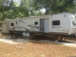 2br - Park Model Camper with Golf Cart - Salt Springs vacation rentals