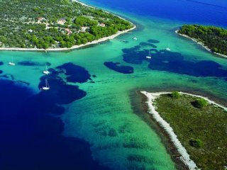 Mediterranean beach house on the small island - Veliki Drvenik vacation rentals