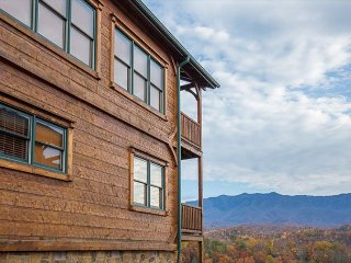 Unmatched Mountain Views! Luxurious 2 BR Cabin. Summer from $149!!! - Gatlinburg vacation rentals