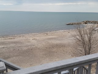 Lakefront Home with Large, Fully-Private Beach!!!! - Huron vacation rentals