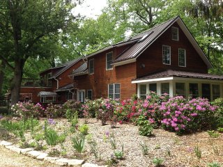 Stunning Inn on 28 Acres with Woods, River, Trails - Union Pier vacation rentals