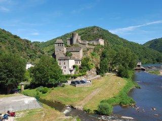 Gite dans une maison de campagne avec terrasse - Brousse-le-Chateau vacation rentals