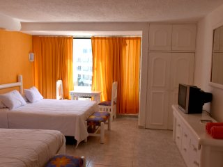 Solymar Ocean front 3 bedroom Hotel Zone - Cancun vacation rentals