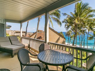 FREE mid-size car with Poipu Palms 302-Two bedroom Ocean Front - Poipu vacation rentals