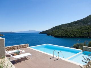 Villa Kalamos -Luxury villa nested in Sivota Bay with private sea access - Sivota vacation rentals