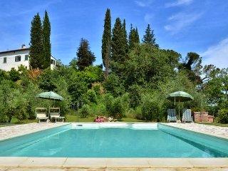 4 bedroom Villa in San Miniato, Pisa And Surroundings, Tuscany, Italy : ref - Corazzano vacation rentals