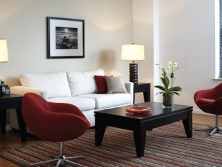 Furnished 1-Bedroom Apartment at River St & Marine View Plaza Hoboken - Hoboken vacation rentals