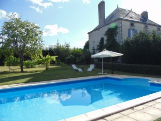 Spacious House in Large Garden with Gite and Pool - La Chapelle-Saint-Etienne vacation rentals