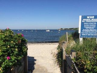 Walk! PRIVATE sandy Beach, Tennis, Yard & Deck! - Falmouth vacation rentals