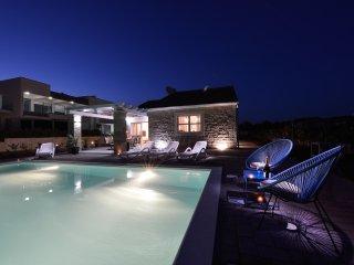 Sea front 3 bdr stone villa with pool **** - Sukosan vacation rentals