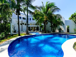 VILLA LAS VENTANAS - 5 BR (10 Beds) for 15 guests - Cozumel vacation rentals