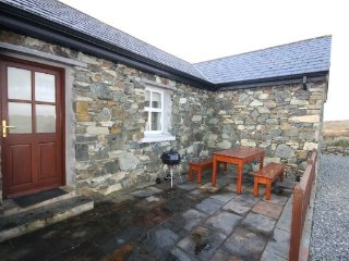 Ballyconneely Stone Cottage - Delighted to offer this recently built stone cottage set in a peaceful surrounding with stunning views of the sea and the Twelve Bens mountains. - Ballyconneely vacation rentals