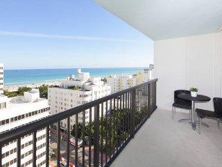 Beautiful 1 Bedroom Oceanfront -Balcony/Parking - Miami Beach vacation rentals