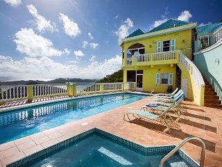 Villa Almost Heaven 3 Bedroom SPECIAL OFFER - Coral Bay vacation rentals