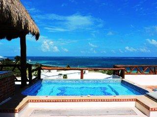 Amazing Condo with Jacuzzi - Impressive Sea View - Puerto Morelos vacation rentals