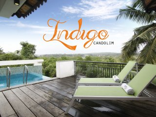 Indigo - 4 Bed Rooftop Pool Candolim Villa - Candolim vacation rentals