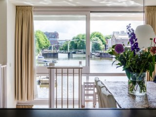 Waterfront 4-bedroom apartment in A-location with amazing view - Amsterdam vacation rentals