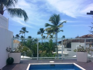 Large oceanview penthouse w/ rooftop dipping pool - Las Terrenas vacation rentals