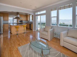 Hilltop 4 BR W/Gorgeous SF Bay Panoramic Views - San Bruno vacation rentals