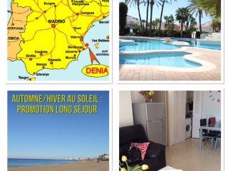 Appartement  à 80 m plage de sable - 2km Dénia - Denia vacation rentals