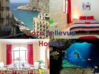 Bellevue - Warda - seaview apartment for 6 - Xlendi vacation rentals