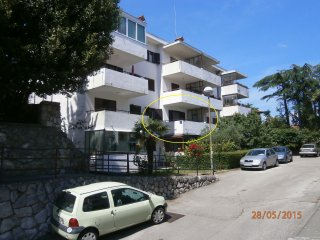 1 bedroom Apartment with Television in Lovran - Lovran vacation rentals