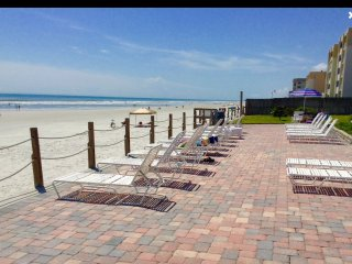 Prestine Direct OceanFront Walkout 2/2 - SEACOAST - New Smyrna Beach vacation rentals